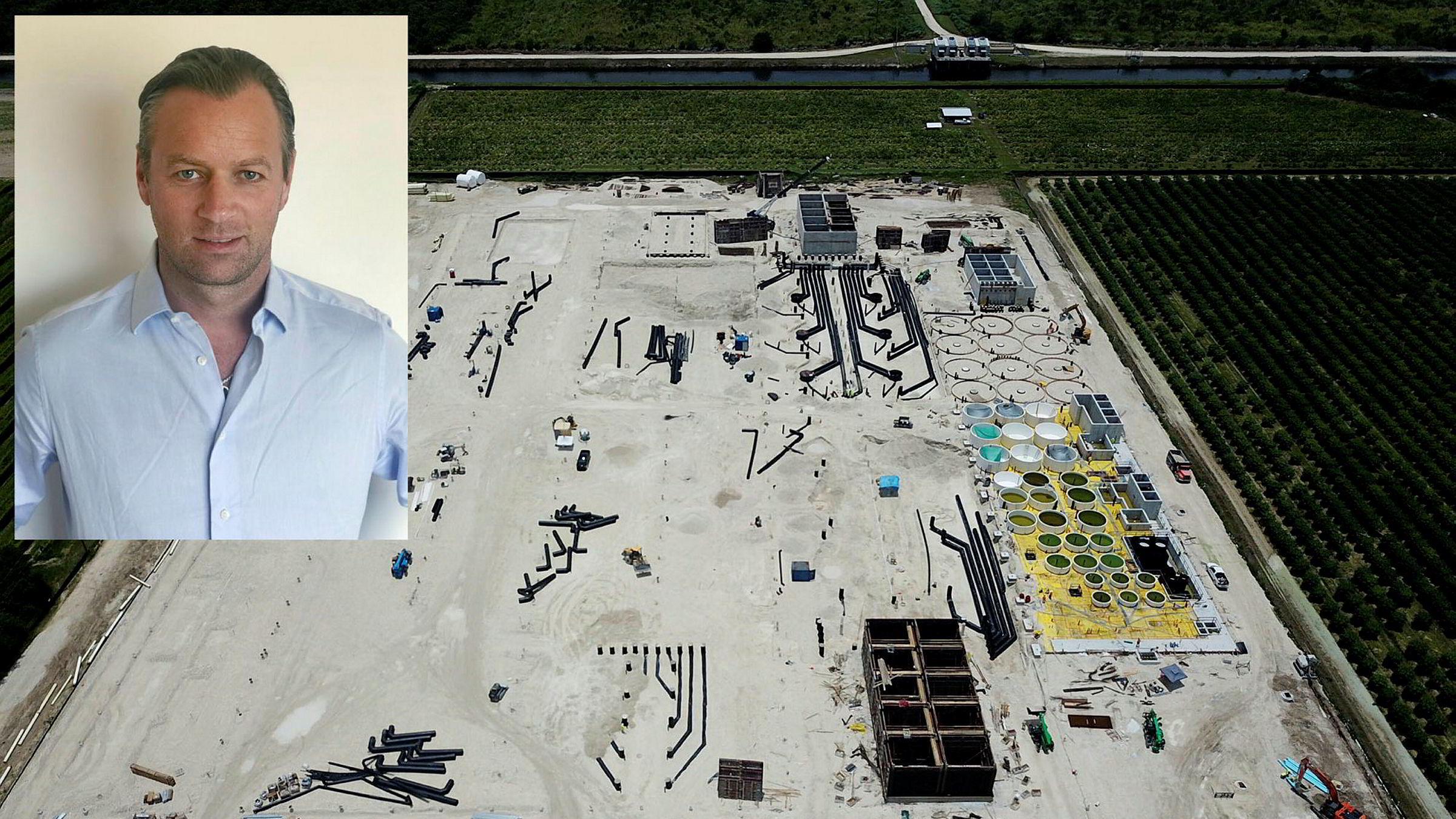 Blant vidstrakte åkere i Homestead i Florida skal Johan Andreassen og Atlantic Sapphire bygge verdens største landbasert oppdrettsanlegg.