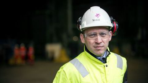 Prosjektdirektør Torger Rød i Statoil leverer et utbyggingsforslag på Johan Castberg-feltet anslått til å koste vel 49 milliarder kroner.