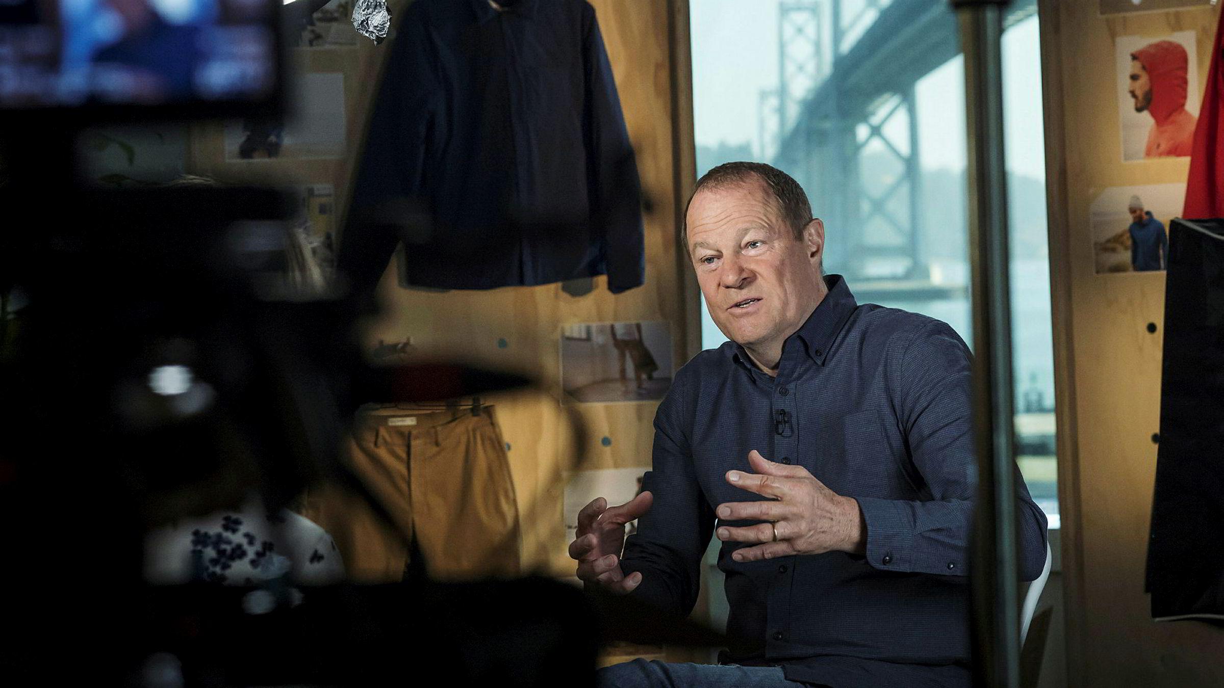 Art Pecker har vært sjef i klesselskapet Gap siden 2015.