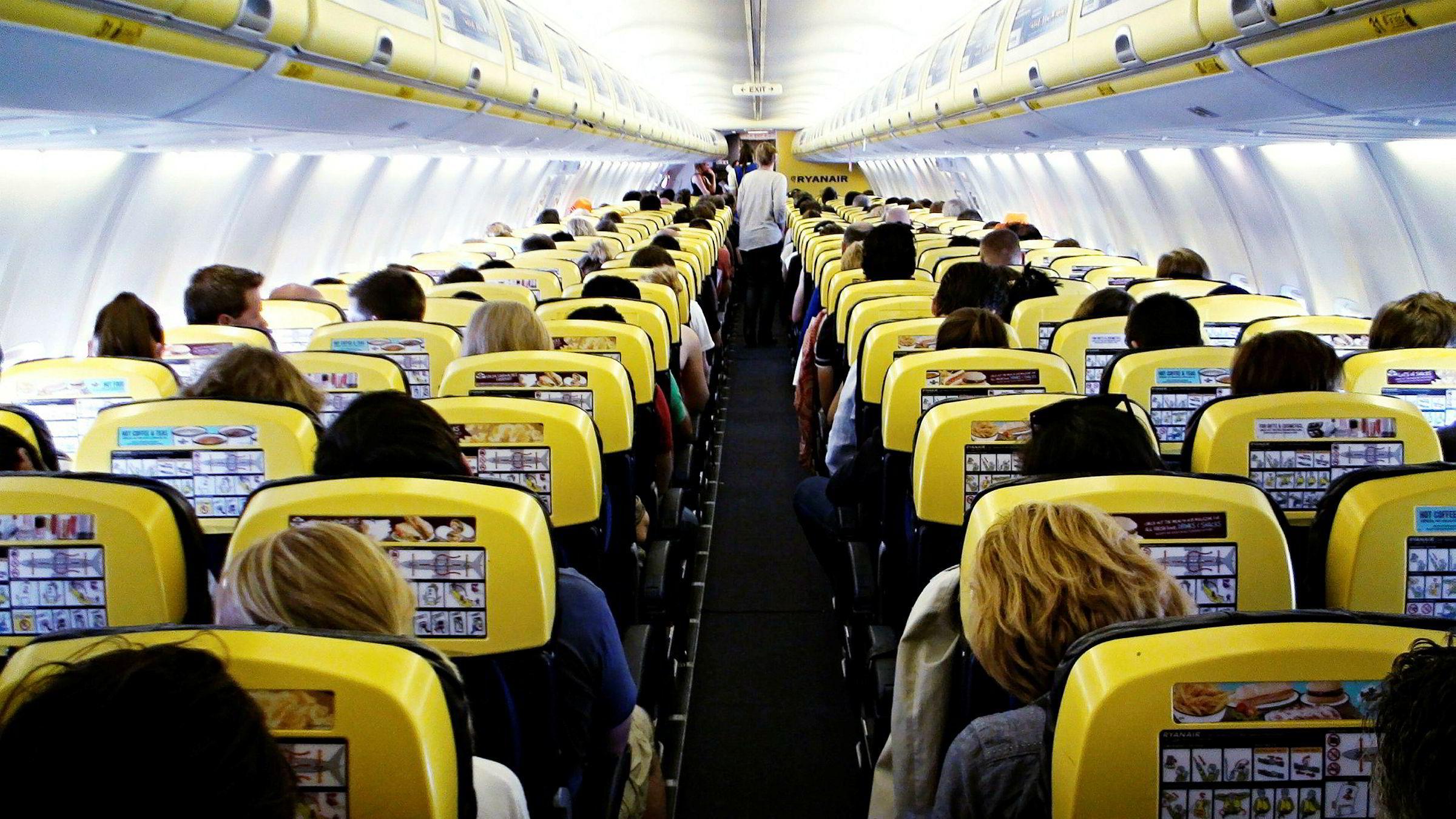 Ryanair er blitt Europas største flyselskap.