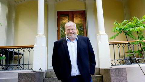 – Jeg blir forbundet med mange ting, men ikke bøker, sier Bjarne Håkon Hanssen.