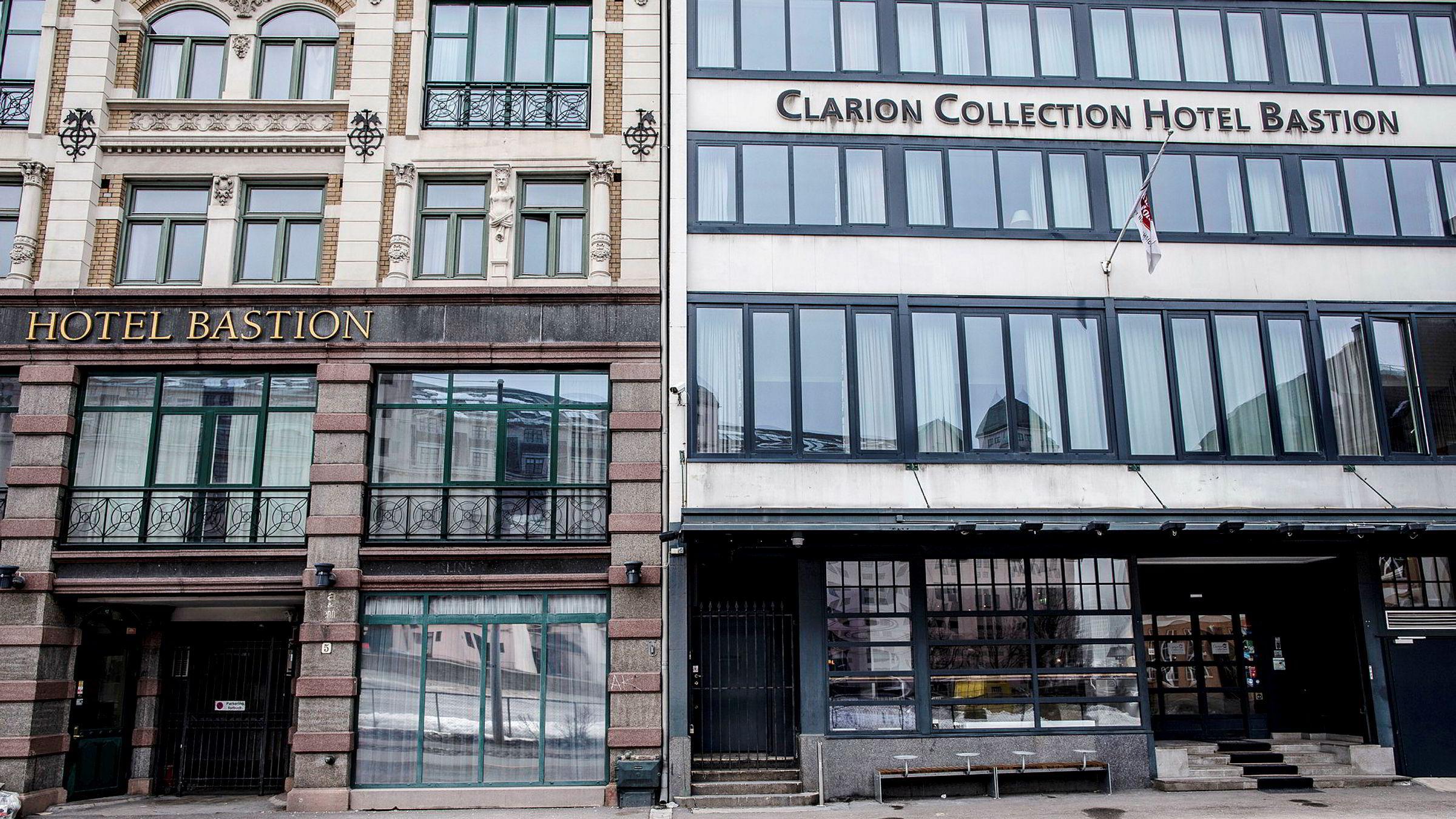 5880 kroner krever Clarion Collection Hotel Bastion, som ble slaktet i DNs hotelltest tidligere i år, om du trenger en seng natt til onsdag denne uken. Riktignok får du da en suite, men fulle hoteller gjør at prisene stiger til himmels i Oslo for den som er ute i siste liten.