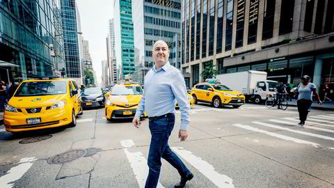 Den tidligere Telecomputing-gründeren Erik Baklid er toppsjef i Virtualworks Group der ett av selskapene har hovedkontor her på Manhattan i New York.