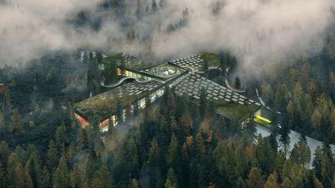 Bjarke Ingels, regnet som en av verdens mest innflytelsesrike arkitekter, blant annet skaper av Googles hovedkvarter, har tegnet Vestres nye fabrikk i Magnor som blir tilgjengelig for publikum dag og natt.