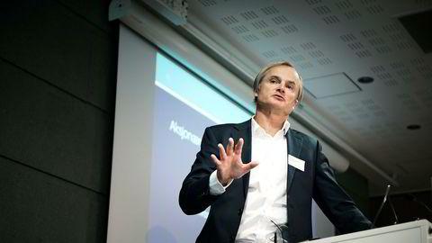 Oslo, Norge 12.10.2017 Konferanse på Næringslivets hus med investor Øystein Stray Spetalen. På årets Forum for eierstyring og selskapsledelse