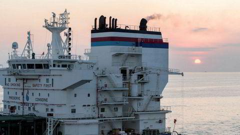 Scrubber-selskapet Clean Marine fikk sitt milliardgjennombrudd i fjor. Så kom koronakrisen. Her en hybrid-scrubber installert på tankskipet «Cratis».