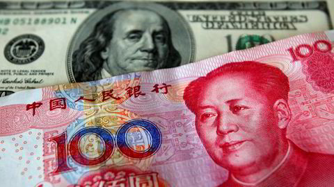 Kina kan manipulere sin egen valuta for å svekke virkningene av amerikanernes toll.