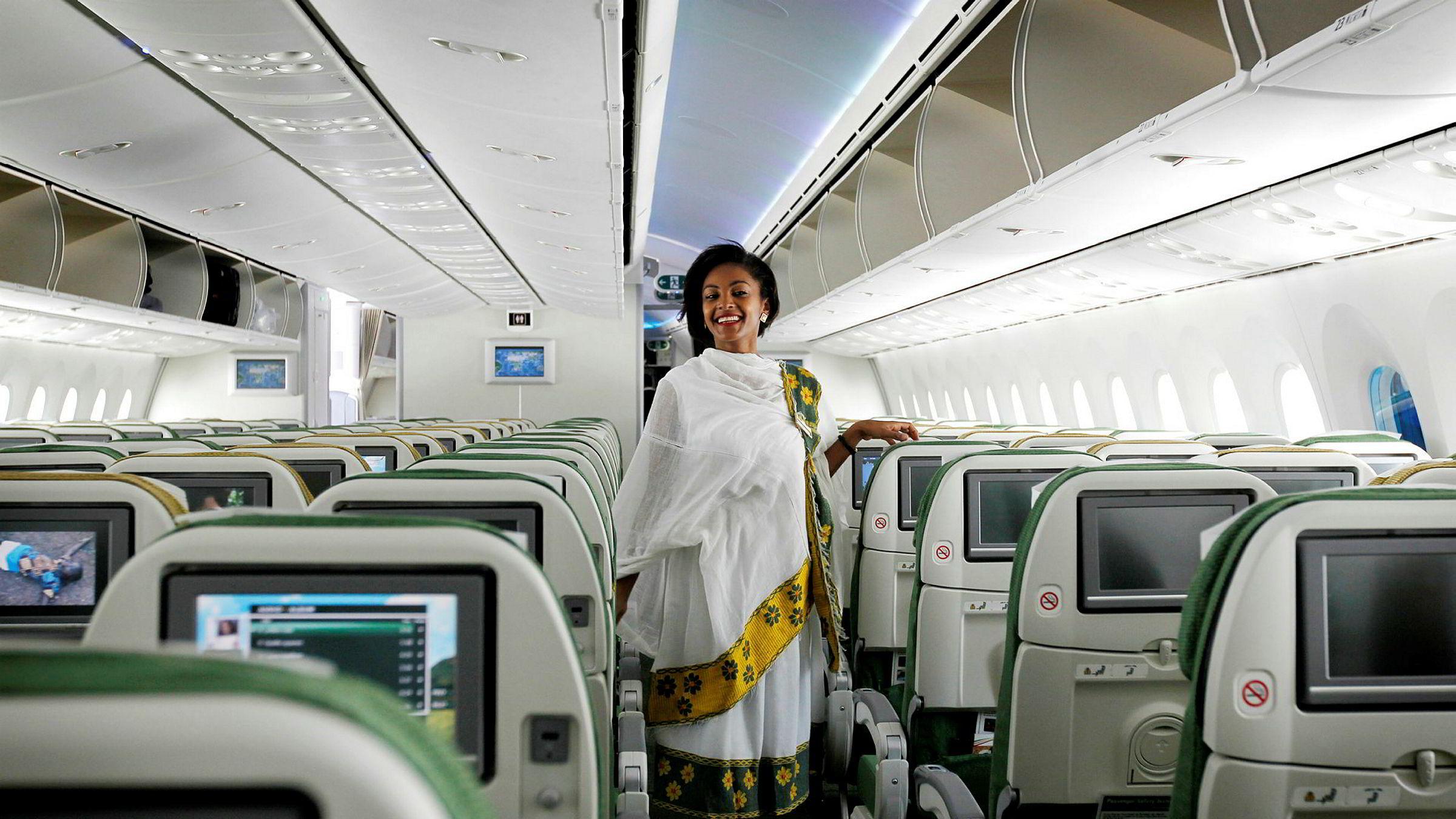 Ethiopian Airlines viser muskler i både kvinnekampen og i den regionale flyindustrien. Selskapet sluttet seg til Star Alliance-gruppen i 2011.