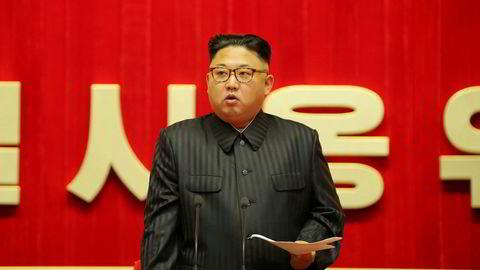 Nord-Koreas leder Kim Jong-un vil fortsette forsonende stemning med Sør-Korea.