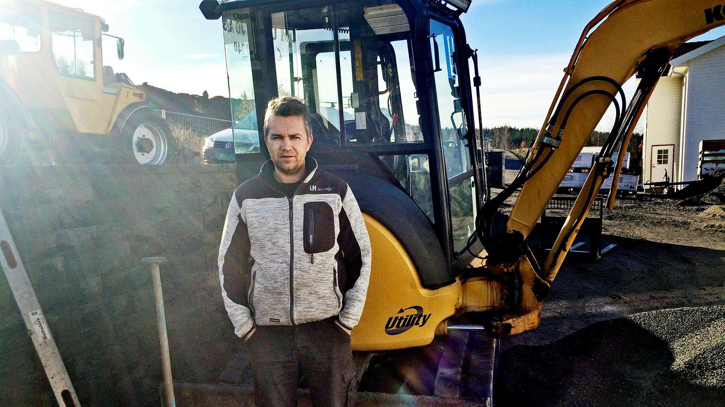 LM Utemiljø og styrelder Inge Malnes omsatte for 7,3 millioner kroner i fjor.