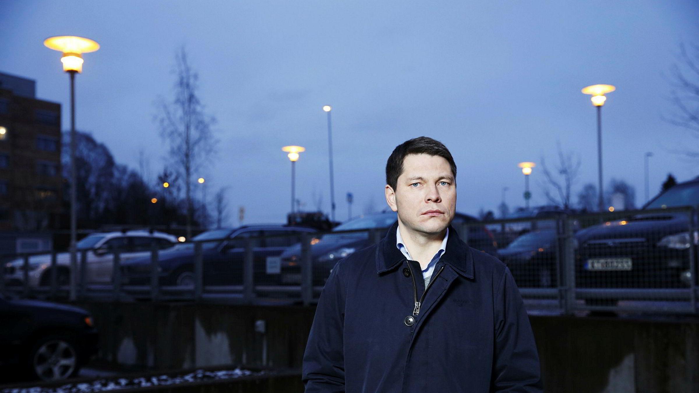 Sven Børre Larsen, finansdirektør i TGS.