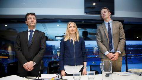 Dopingjusen er uavklart på prinsipielt viktige punkter, noe som gir seg utslag i ulike dommerholdninger, skriver artikkelforfatteren. Her er Therese Johaug med sine advokater Christian B. Hjorth (til venstre) og Mikkel Toft Gimse under høringen i dopingsaken i januar 2017.