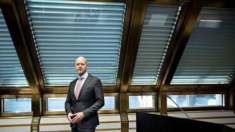 Yngve Slyngstad, sjef for Oljefondet.