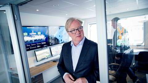 Konsernsjef Trond Williksen i Salmar kjøpte nylig sine første aksjer i lakseoppdrettselskapet.