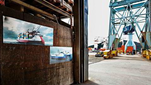 Nedturen smittet raskt over på verftsindustrien, siden bestillingene av nye skip uteble og inngåtte kontrakter ble kansellert.