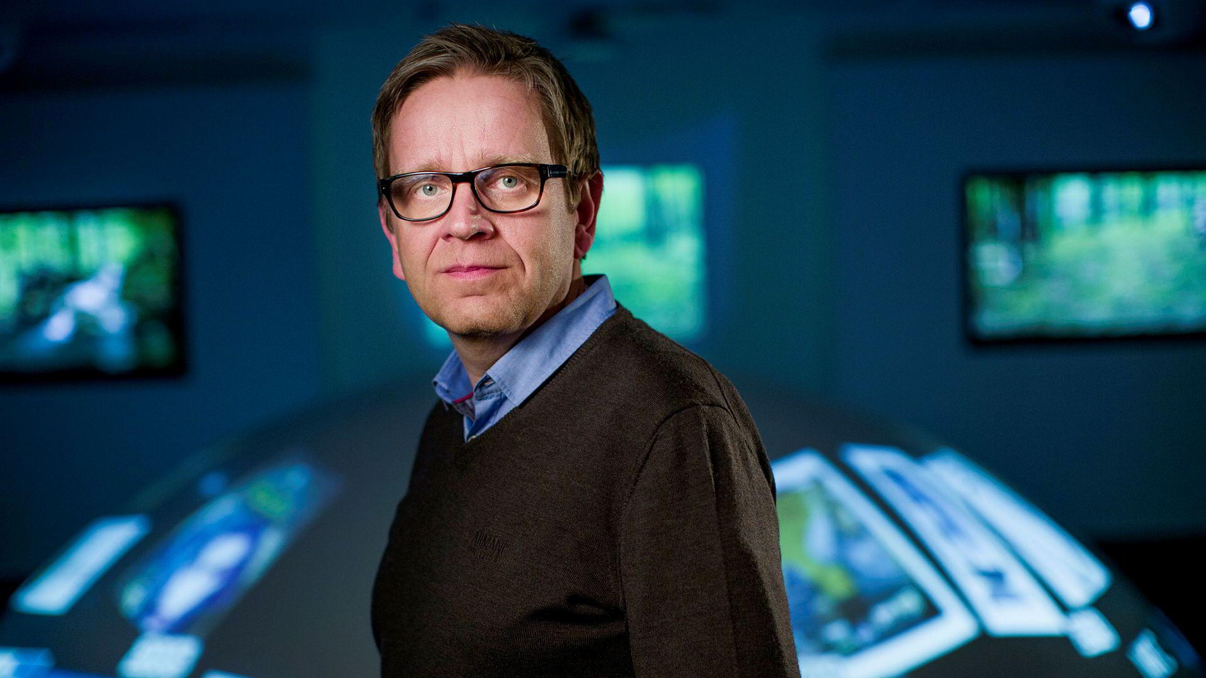Per Simonsen er sjef for Internet of Things (IoT) i Telenor.