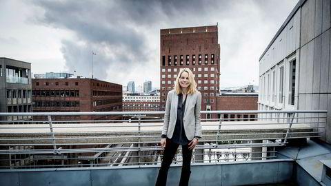 Sjefjurist Christina Stray i Folketrygdfondet tror flere kvinner i stillinger med forvalteransvar kan redusere lønnsforskjellene i finansverdenen.