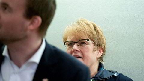 Partileder i Venstre Trine Skei Grande kan bli sittende som partileder etter landsmøtet 17.-19. april