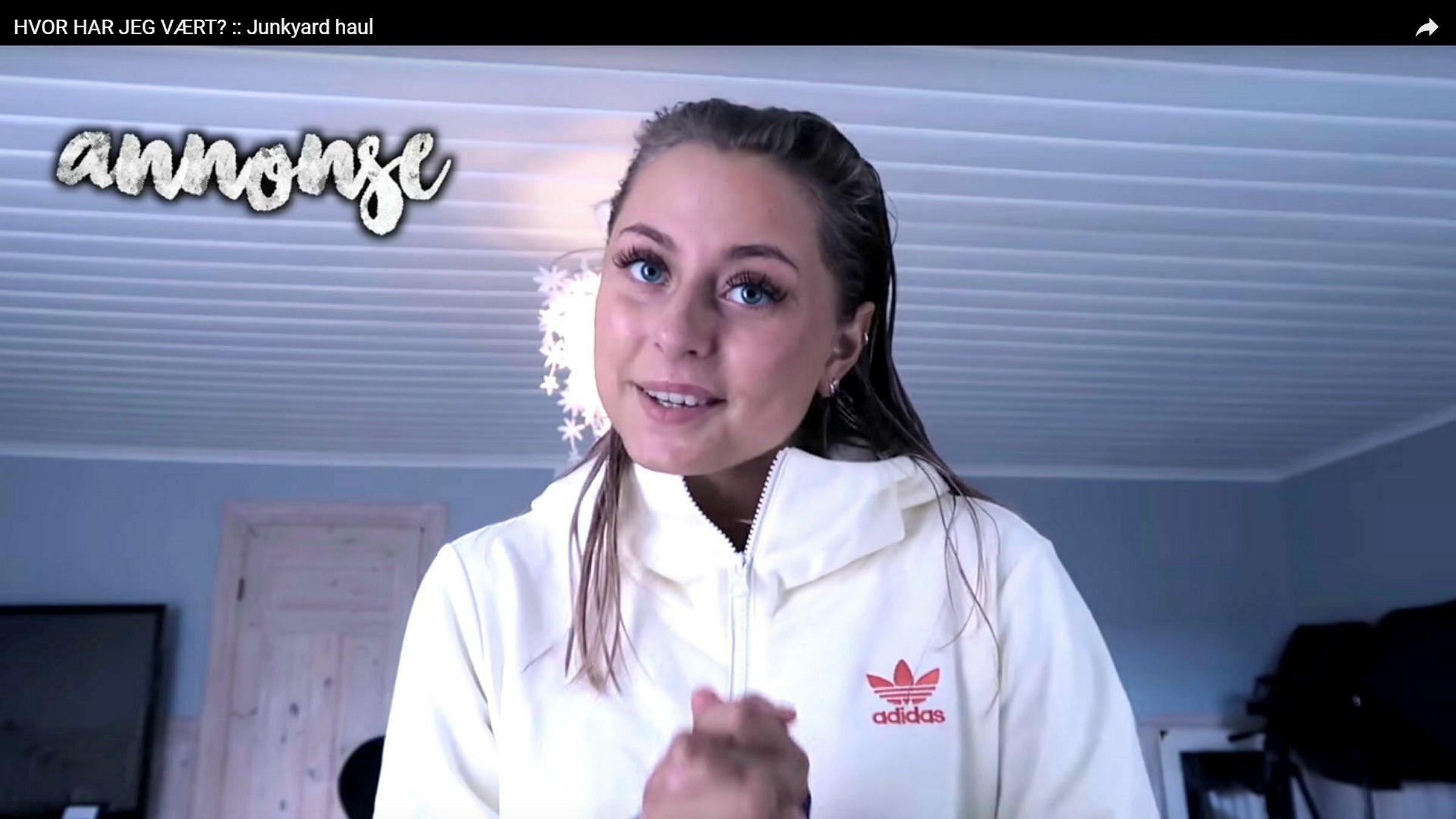Amalie Olsen - youtuber fra hennes kanal på youtube