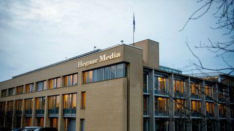 Finansavisen omtalte tiltalen og lånene i desember, men nevnte ikke at en journalist i avisen fikk det største lånet i tiltalen. Her fra Hegnar Media og Finansavisens lokaler Hoffsveien Oslo.