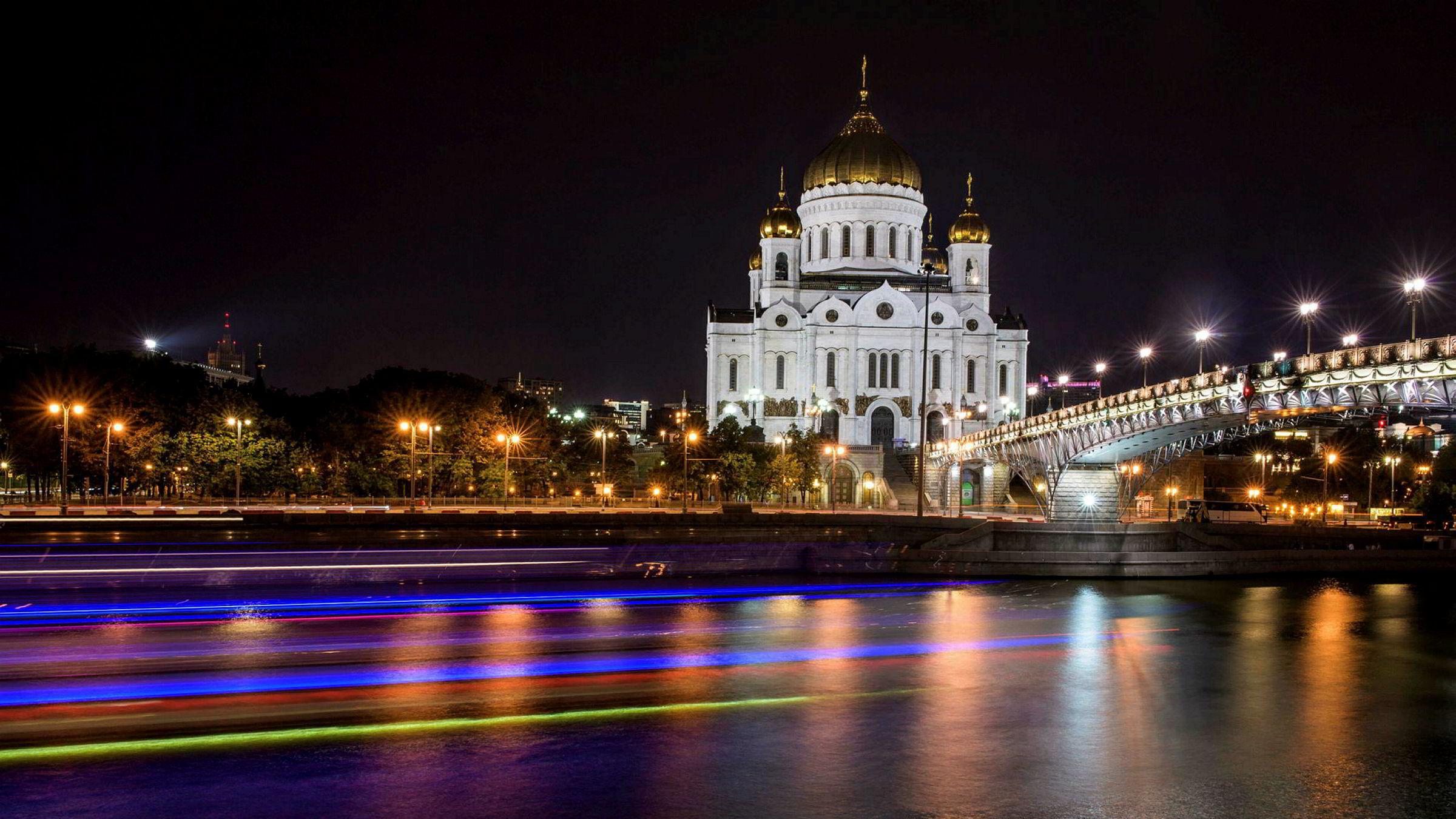 En nordmann er arrestert for spionasje i Moskva.