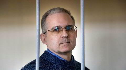 Paul Whelan ble mandag dømt til 16 års fengsel i Russland for spionasje. Bildet er fra et rettsmøte i fjor sommer.