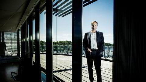 Konsernsjef Øystein Moan i Visma kjøper seg tilgang til et større marked i Europa når Visma kjøper nederlandske Raet.