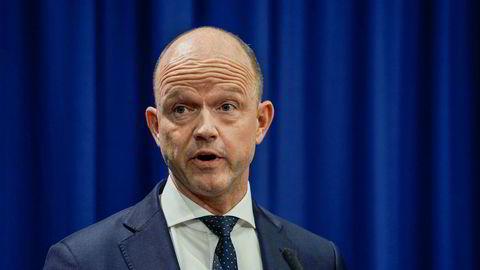 NHO-sjef Ole Erik Almlid etterlyser en tydeligere satsing på hydrogen fra regjeringens side.