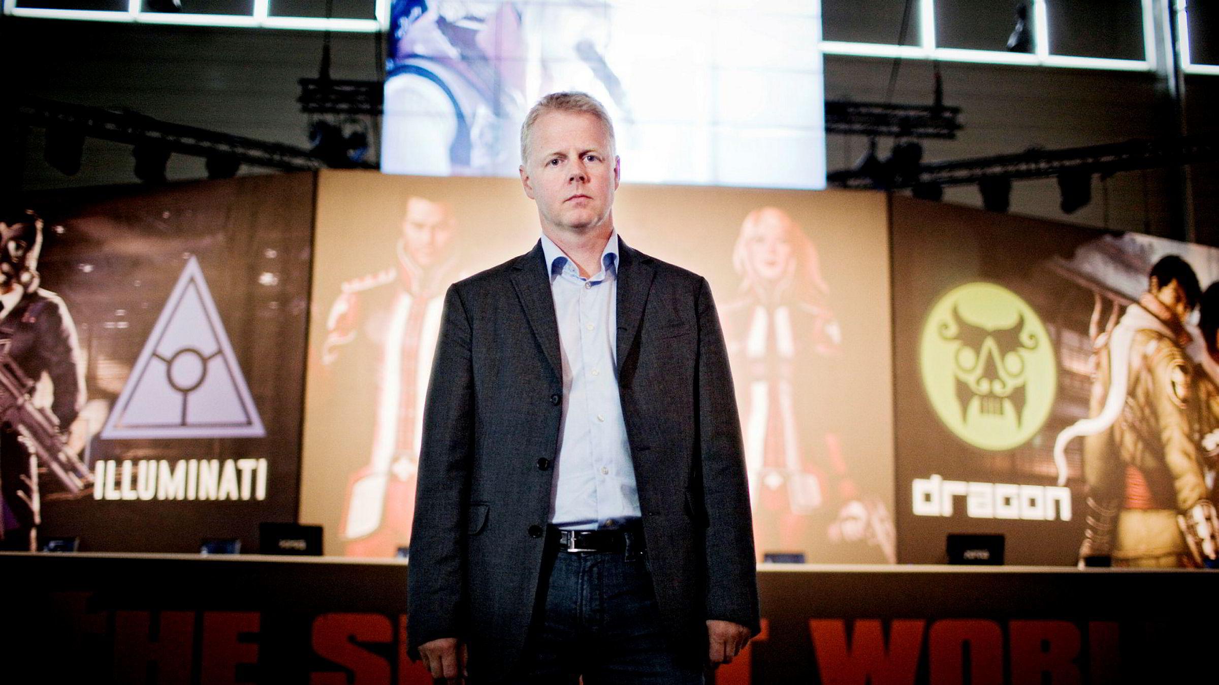 Tiltalte Trond Arne Aas (47) var administrerende direktør i Funcom fra 2002 til juli 2012.