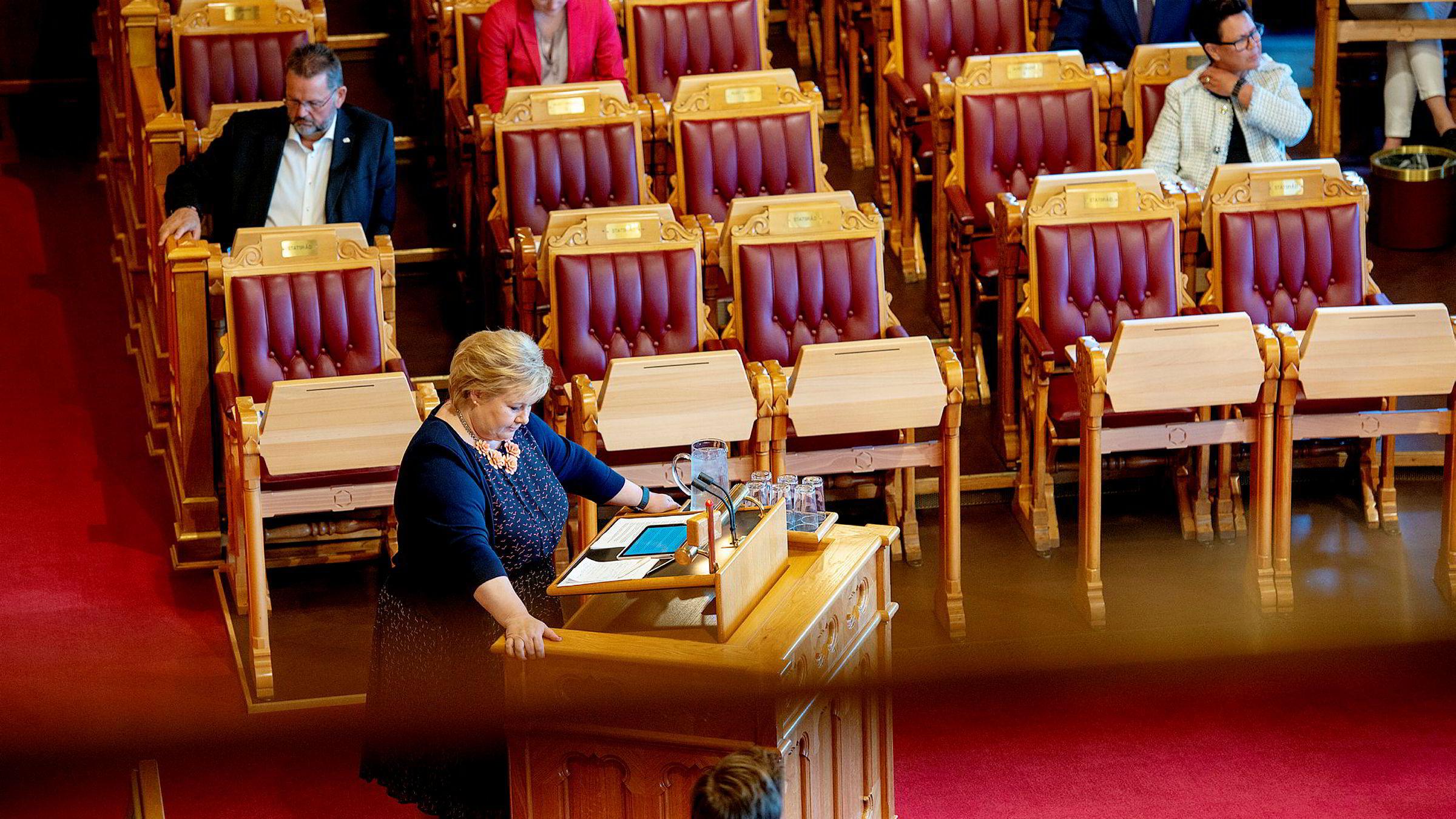 Flere statsansatte på Erna Solbergs lønningsliste det siste året