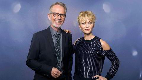 Ivar Dyrhaug og Bertine Zetlitz er programledere for «Århundrets stemme», en av TV 2s storsatsinger i mars.