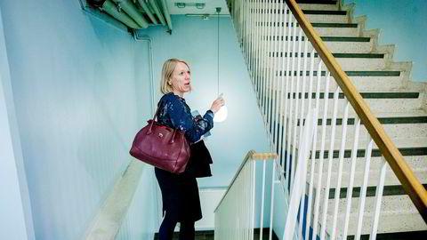Anniken Huitfeldt reagerer kraftig på at et bilde av henne brukes til å fremme en tjeneste for forbrukslån på Google. Foto: Vegard WivestadGrøtt/NTB Scanpix