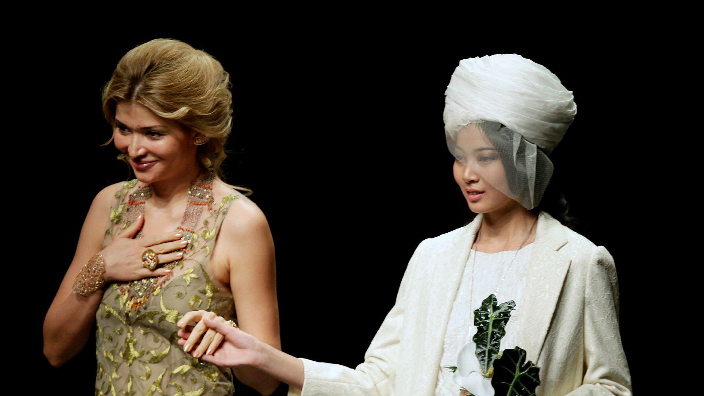 I februar 2016 erkjente Veon og Unitel seg skyldige i å ha betalt store beløp i bestikkelser til presidentdatter Gulnara Karimova for å få innpass i mobilmarkedet i Usbekistan. Her presenterer Gulnara Karimova sin kleskolleksjon på China Fashion Week i Beijing i oktober 2012.