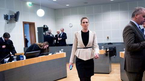 Administrerende direktør i Njord Gas Infrastructure Birte Norheim, mener det er «rimelig» at selskapene får skrive av advokatutgifter.
