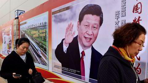 Det spekuleres om Kinas president Xi Jinping kan tenkes å fortsette som leder selv etter sin neste femårsperiode. Da vil han i så fall bryte med partiets uskrevne og nærmest hellige aldersgrense.