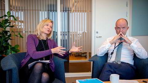 Nina Melsom, direktør området arbeidsliv og Ole Erik Almlid, administrerende direktør i NHO mener det må en opprydning til i tariffavtalene for at de skal være relevante for fremtidens yrker.