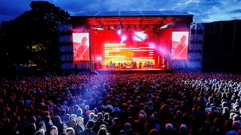 Arrangementsplattformen Ticketco har på to år etablert seg som en reell konkurrent til etablerte betalingstjenester, som Ticketmaster/Billettservice. Her fra Øyafestivalen i Oslo.