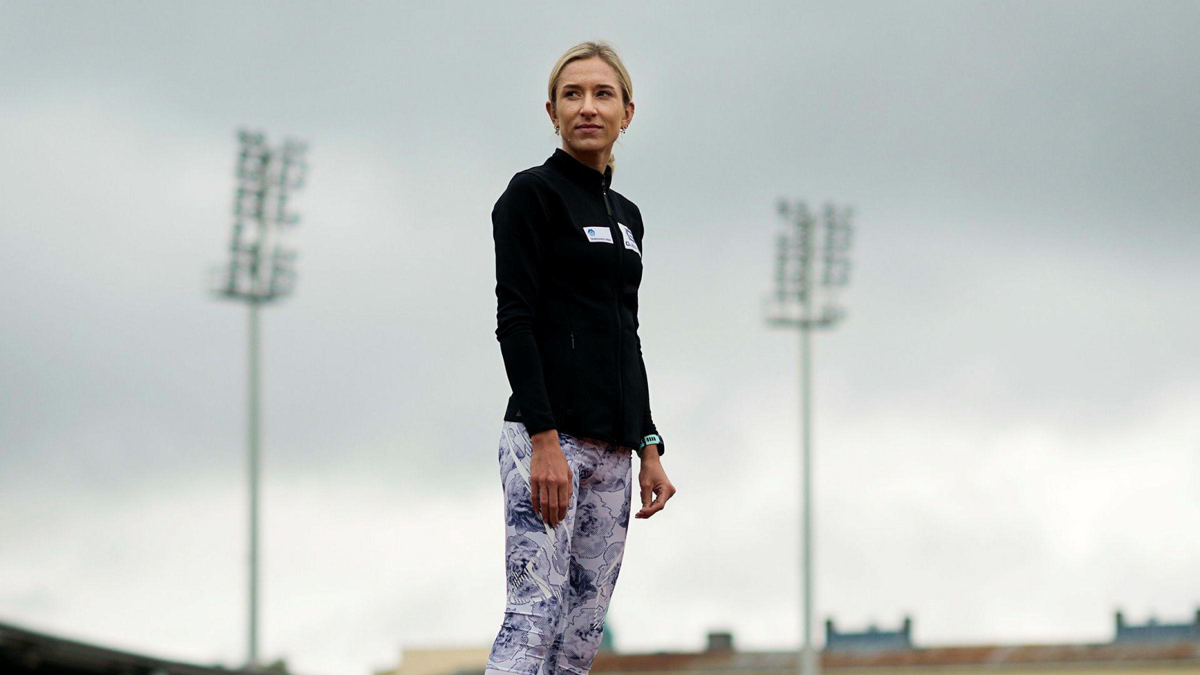 Karoline Bjerkeli Grøvdal går tilbake til røttene og løper 3000 meter hinder under Bislett Games 15. juni.