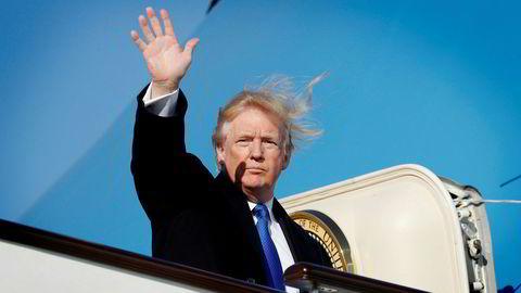 Donald Trump gjorde det klart at amerikanske interesser vil plasseres først under Apec-møtet i Vietnam. President Xi Jinping la større visjoner for Asia.