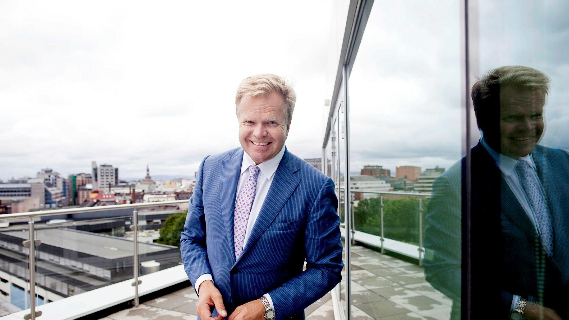 «Folk ble rett og slett flaue,» skriver politisk redaktør Kjetil B. Alstadheim i DN om uttalelsen fra NHSTs konsernsjef Gunnar Bjørkavåg (bildet).