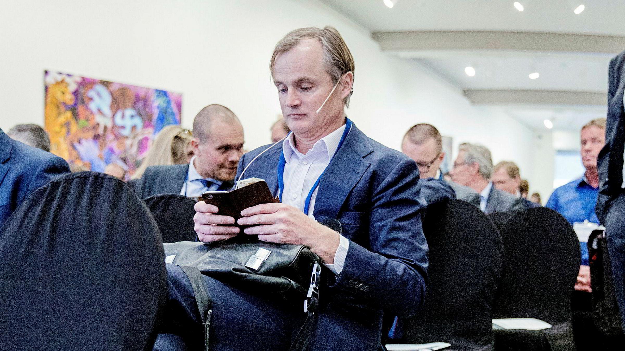 Investor Øystein Stray Spetalen er blant storaksjonærene i SD Standard Drilling.