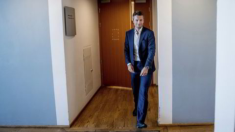 Arild Hille er meglersjef i Pareto Securities. Bildet er tatt i 2018.