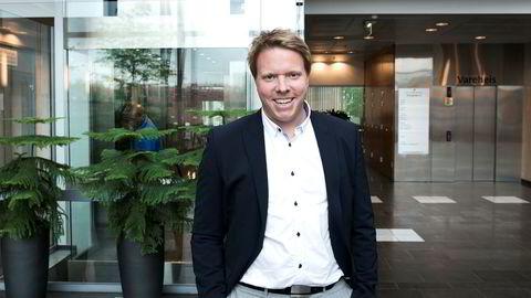 Administrerende direktør Eivind Helgaker i mobilselskapet Ice i Norge.