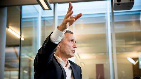 Nato-sjef Jens Stoltenberg mener medlemslandene er på riktig vei.