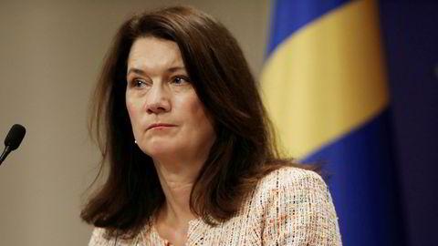 Sveriges utenriksminister Anne Lindes departement har tatt opp saken med tankesmien IPI.