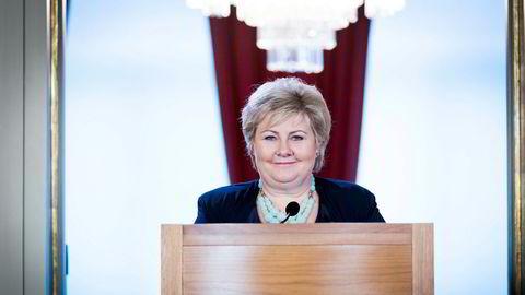 Erna Solberg holdt for femte gang statsministerens oppsummerende julepressekonferanse og benyttet anledningen til å minne om at hun vant valget.