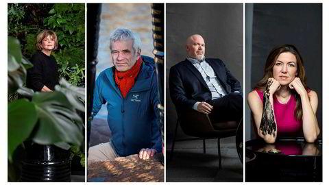 Wenche Skorge, William Helland-Hansen, Leif A. Stavøstrand og Thina Saltvedt. Alle jobbet med olje. Så hoppet de av.