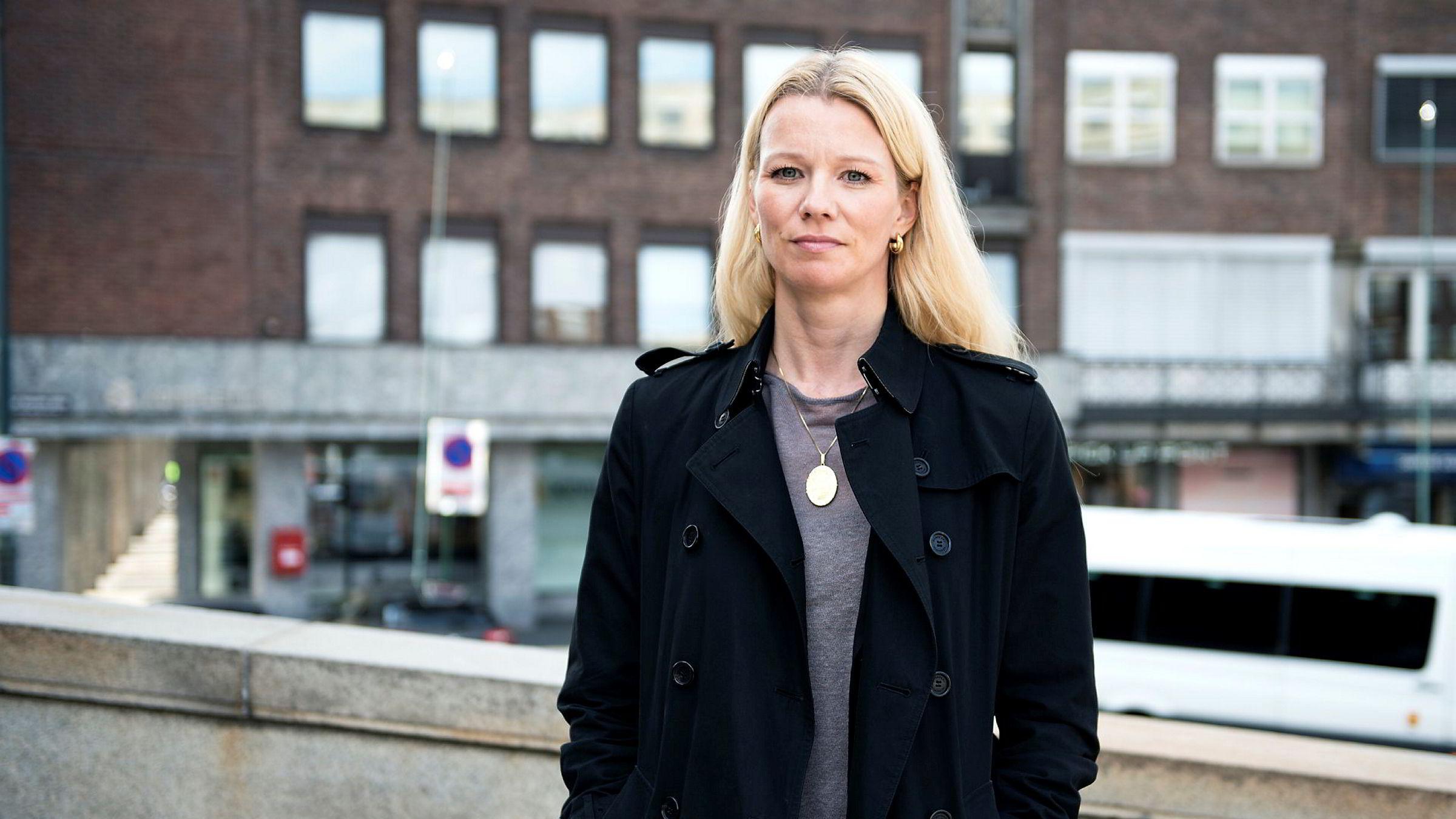 Sjeføkonom Kari Due-Andresen i Handelsbanken Capital Markets venter at Norges Bank holder renten i ro også de neste tre årene.