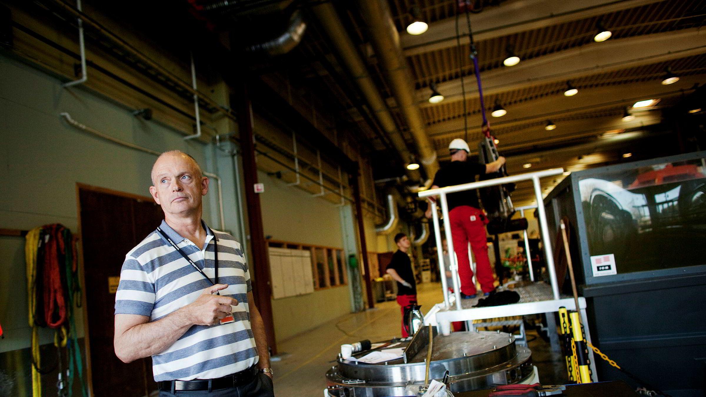 Oljeleverandør og eier av IKM-gruppen Ståle Kyllingstad er glad for Røkkes signaler