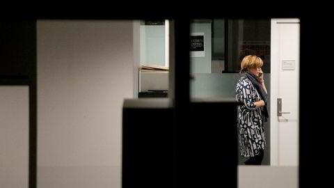 Christine Meyer var fortsatt på jobb i SSB sent torsdag kveld.